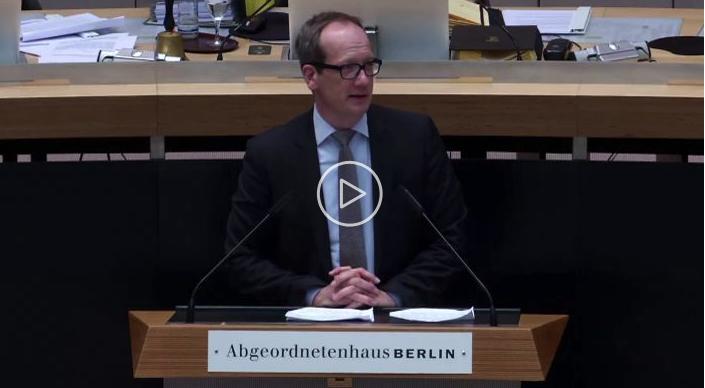 Rede zum Entwurf für ein Berliner Energie- und Klimaschutzprogramm 2030