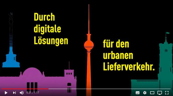 Digitale Lösungen für den urbanen Lieferverkehr