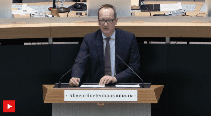 Rede zum Vergabeverfahren der Berliner S-Bahn-Leistungen