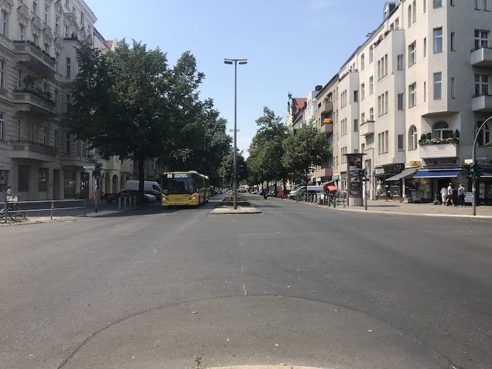 Wie soll sich der Verkehr in der Kantstraße weiter entwickeln?