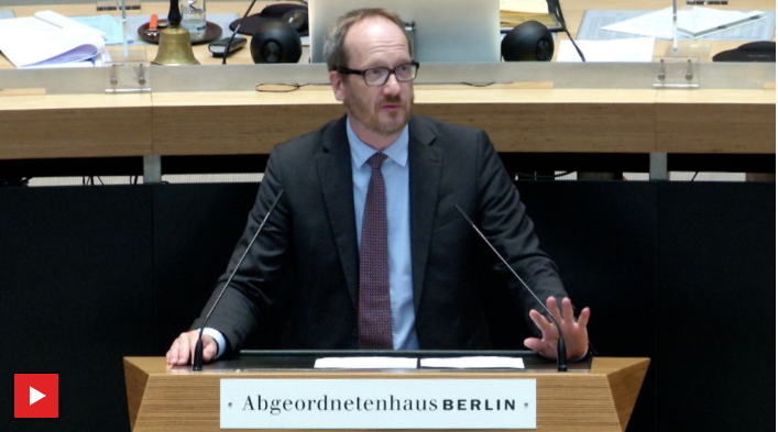 "Rede ""Berliner Taxigewerbe schützen"""
