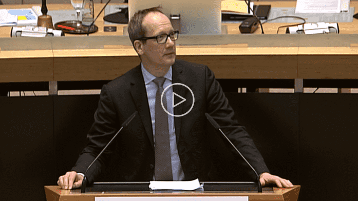 Rede zum Entwurf des Mobilitätsgesetzes