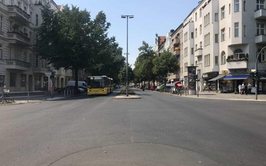 Neugestaltung der Kantstraße