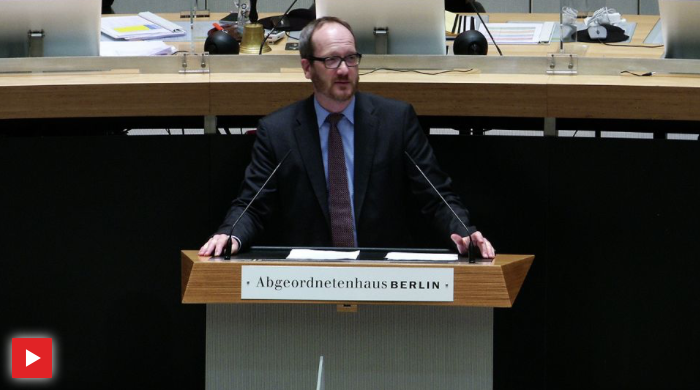 Rede zur Errichtung einer Landesanstalt Schienenfahrzeuge Berlin